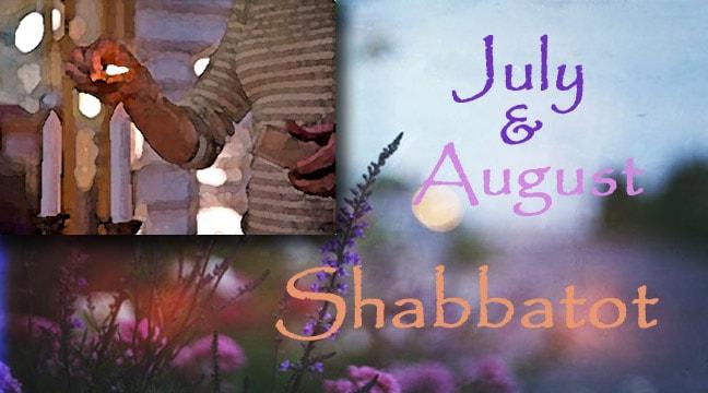 Summer Erev Shabbat Services - 6:30 PM