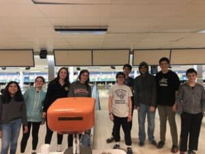 Youth Group Bowling with Xani