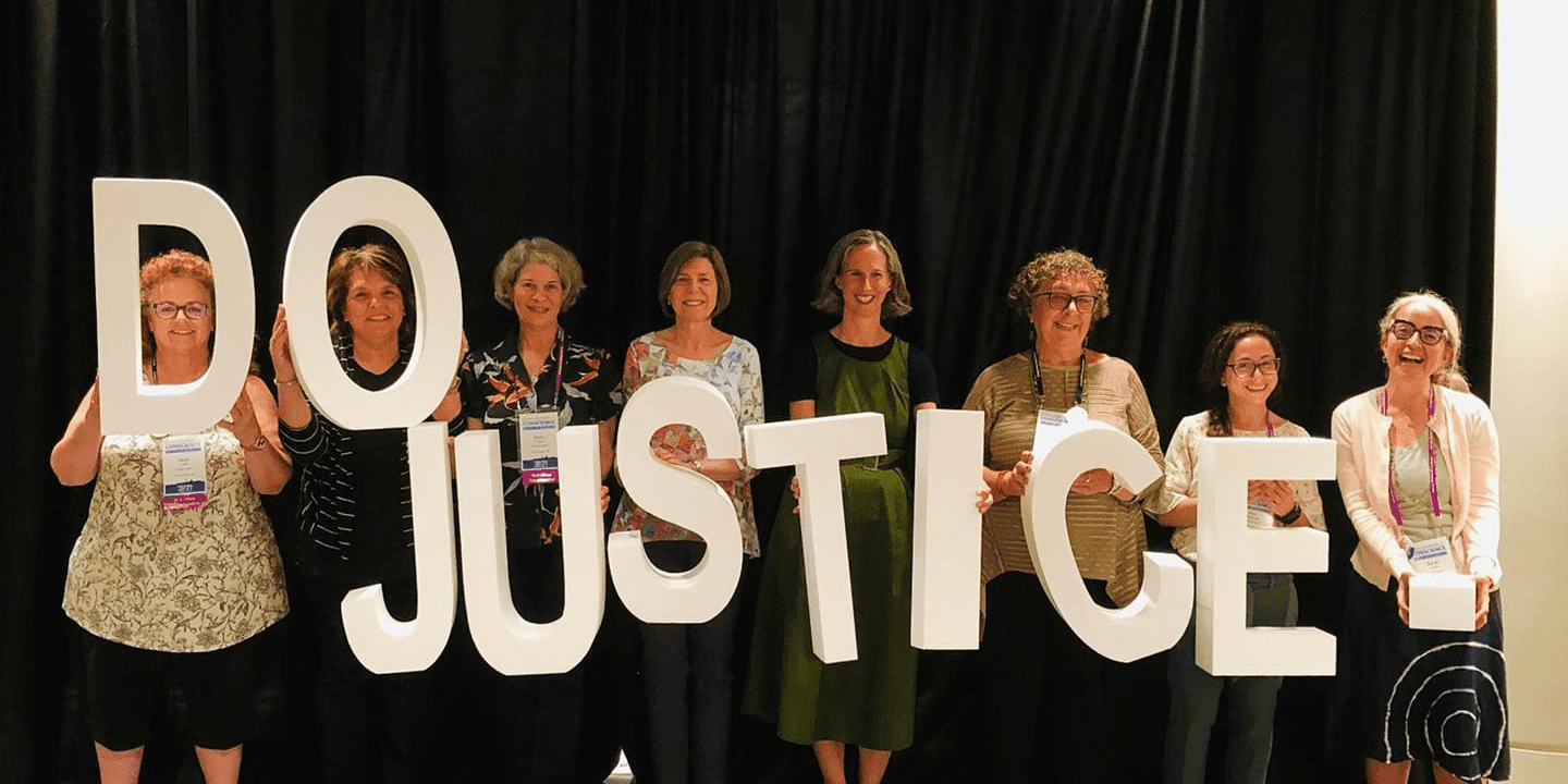 Temple Shalom members and staff at the RAC's Consultation on Conscience weekend